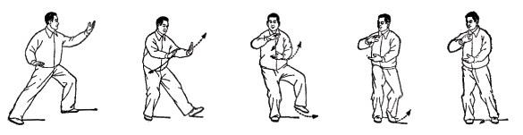 3 簡化24式太極拳は最初イラストで発表された