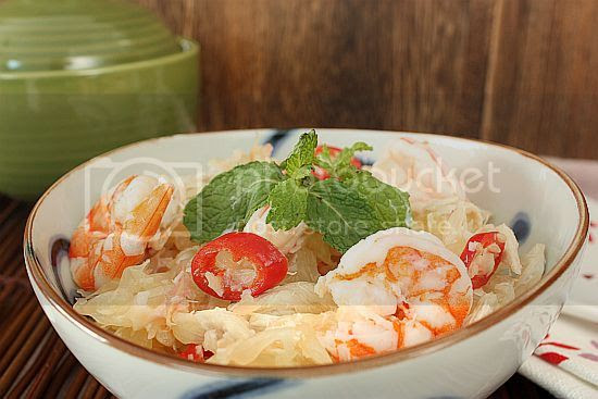 Pomelo salad 1