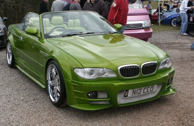 Modified BMW 3 series Convertible