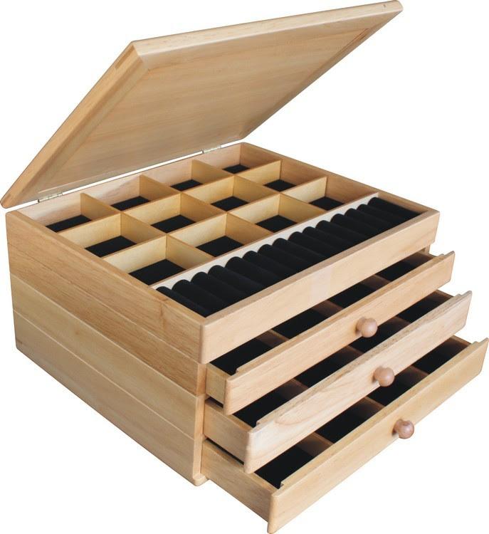 The Elk Calls Jewelry Box 3 Drawer