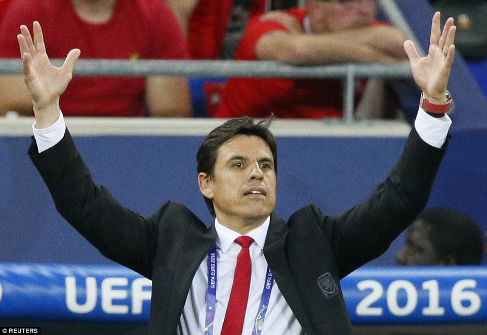 Wales manager Chris Coleman made three swift substitutions after his side fell behind in a bid to cajole a reaction