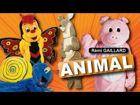 video que muestra una compilacion de Animales Remi Gaillard