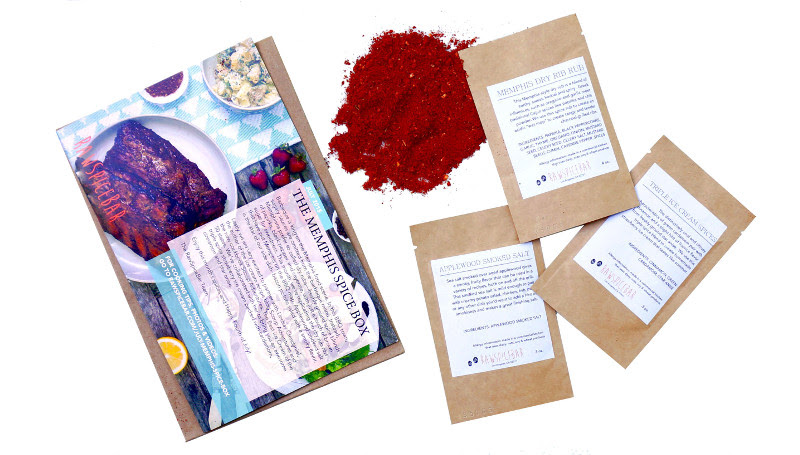 RawSpiceBar Monthly Subscription Spice Box