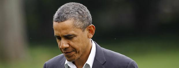 O presidente dos EUA, Barack Obama, na Casa Branca nesta segunda-feira (5) (Foto: AP)