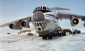 Un avión de transporte Iliushin-76 /ABC