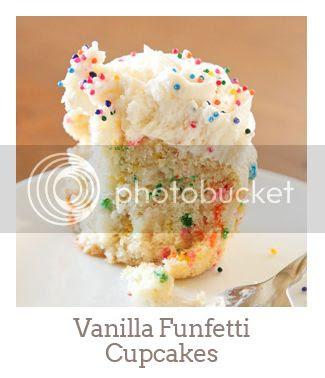 """""""Vanilla Funfetti Cupcakes"""""""