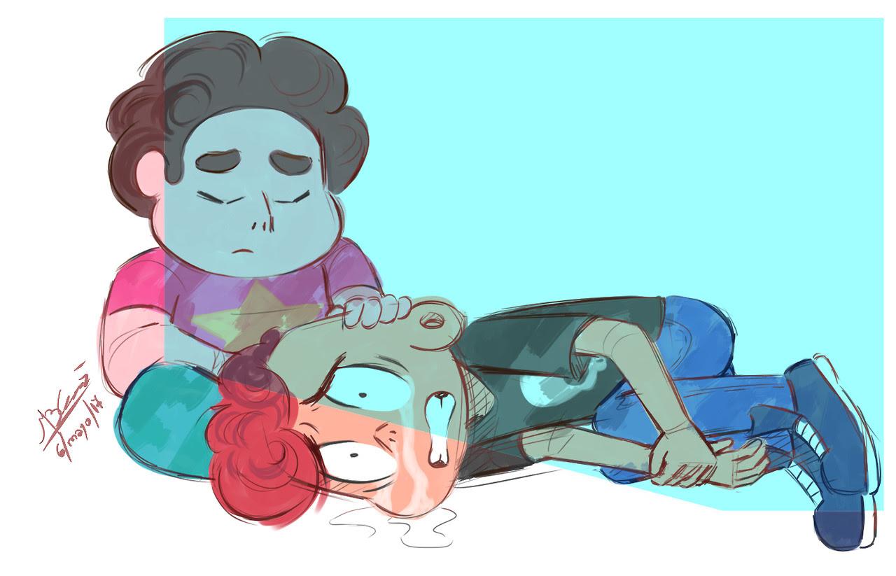 """ Stuck Together "" … on a ship to Homeworld"