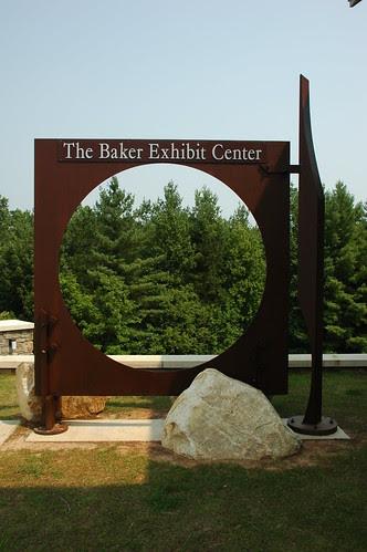 Entrance Sign, Baker Exhibit Center