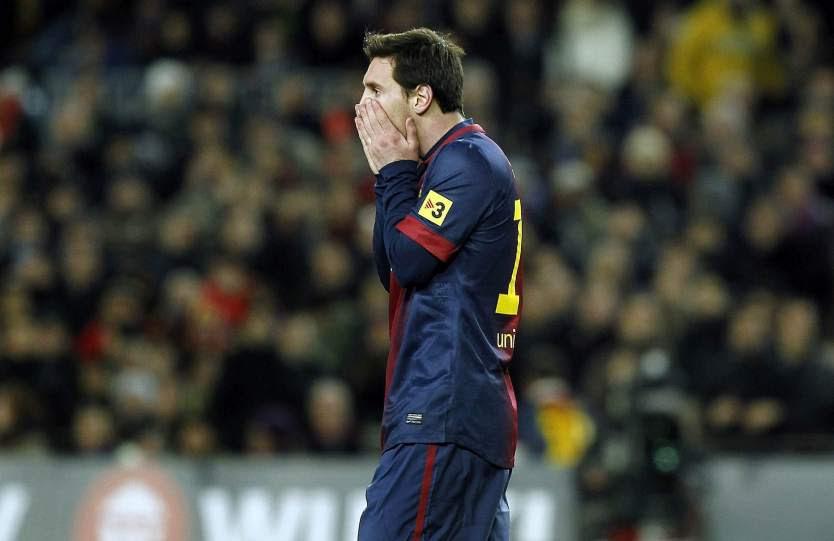 Messi se queda mudo ante Ronaldo