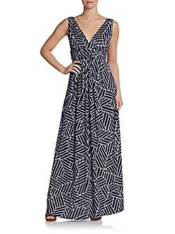 5/48 Adrianna Printed Maxi Dress