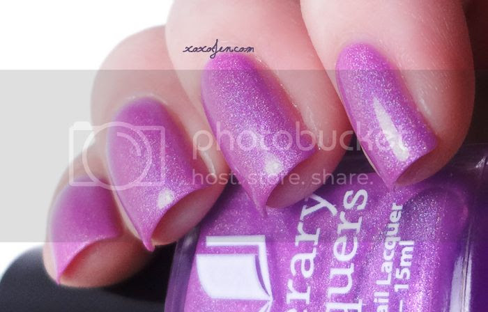 xoxoJen's swatch of Literary Lacquers Effie's Trinket