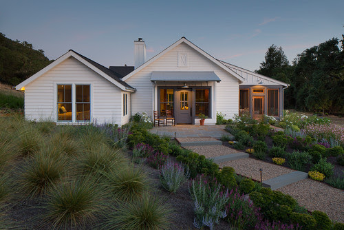 exterior modern farmhouse ranch architecture