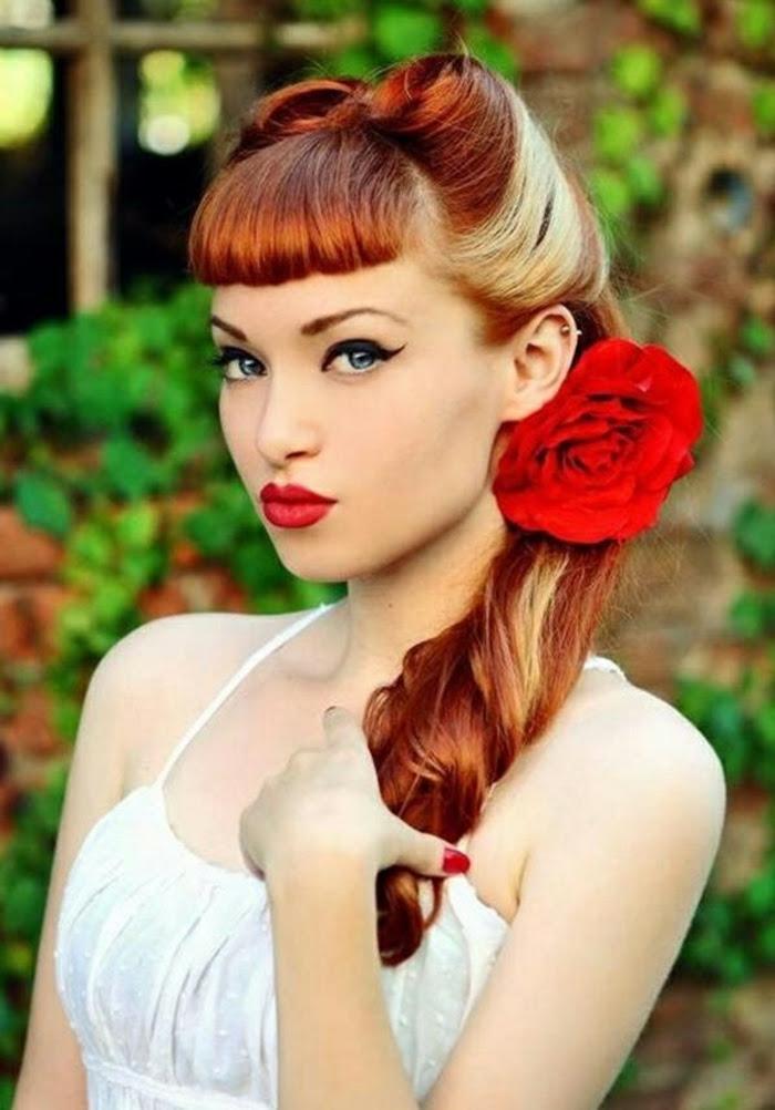 Rockabilly Frisuren Frauen Lange Haare Apiotravvyinfo