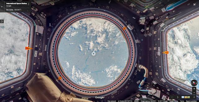 Estacion Espacial Internacional Street View Google
