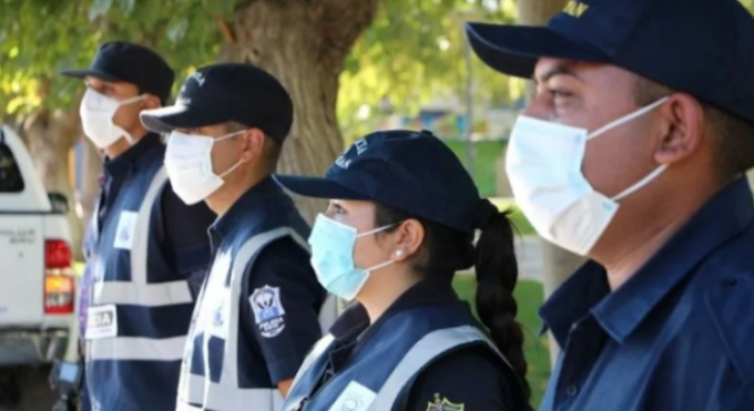 CUSTODIA POLICIAL EN ÚNICO CASO DE CORONAVIRUS EN SAN JUAN