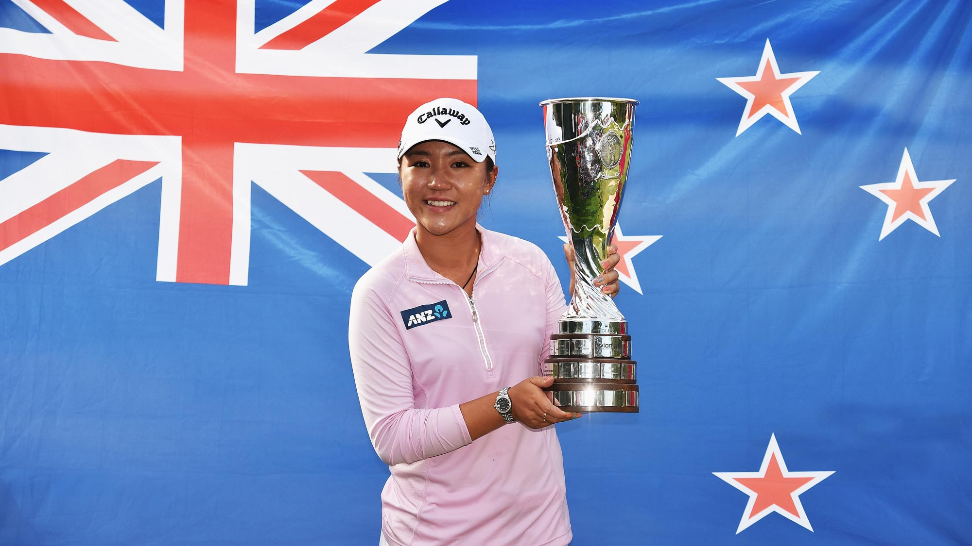 Lydia Ko with first major trophy