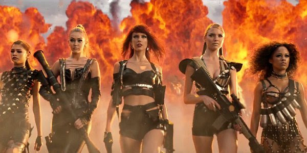 Report: Taylor Swift Wants to Expand 'Bad Blood' Into Film and Comic Books