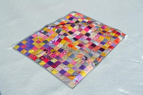 do. good stitches postage stamp quilt