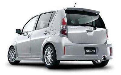 Perodua Myvi TRD Bodykit - paultan.org