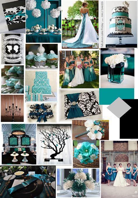Rhodeshia's blog: teal and silver wedding