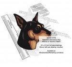 Ratonero Valenciano Dog Intarsia - Yard Art Woodworking Pattern - fee plans from WoodworkersWorkshop® Online Store - Ratonero Valenciano Dogs,pets,animals,dogs,breeds,instarsia,yard art,painting wood crafts,scrollsawing patterns,drawings,plywood,plywoodworking plans,woodworkers projects,workshop blueprints