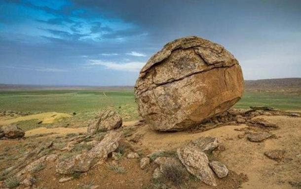 Valley of Balls, Torysh Valley, Kazakhstan
