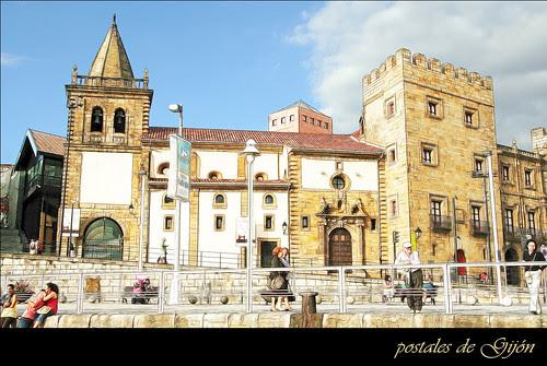 postales de Gijón