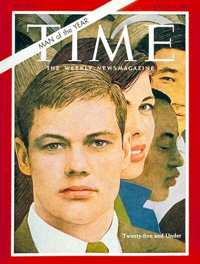 Image result for time magazine cover 1968 youth under 25