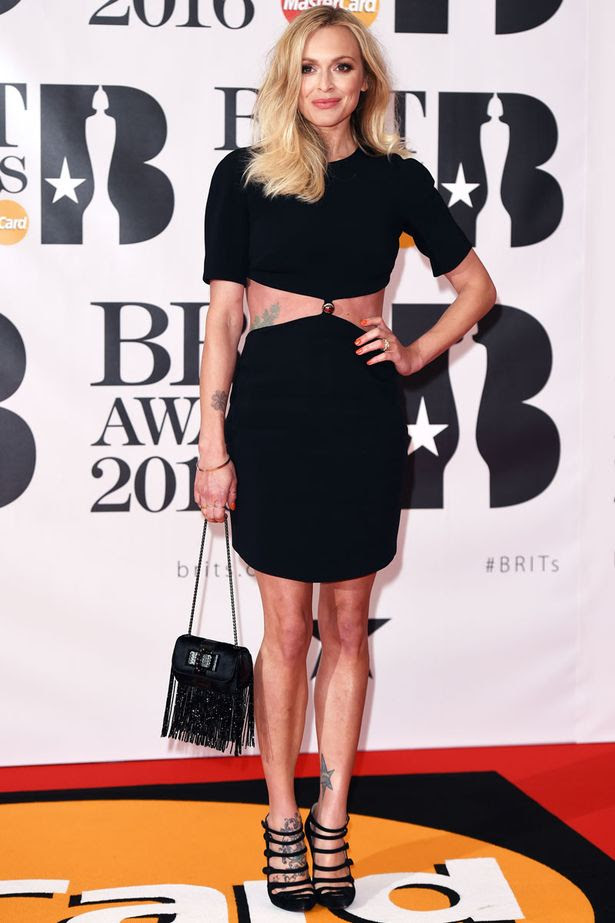 Mandatory Credit: Photo by David Fisher/REX/Shutterstock (5593462dm) Fearne Cotton The Brit Awards, Arrivals, O2 Arena, London, Britain - 24 Feb 2016
