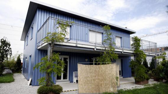 C'est dans cette maison situe dans la banlieue de Zurich (Suisse) que l'association Dignitas pratique le suicide assist.