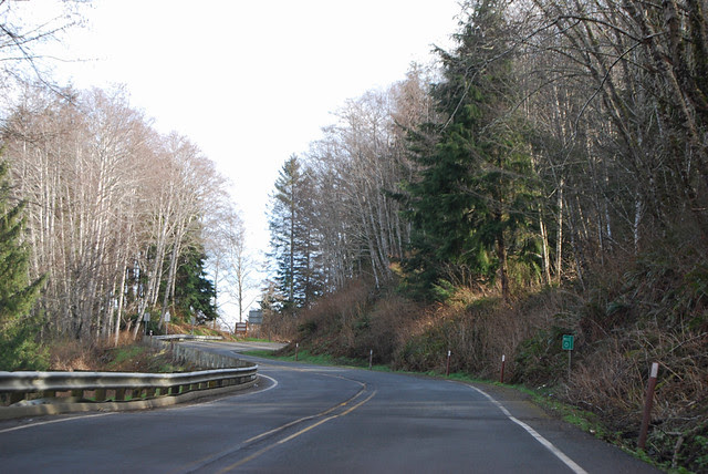 SR 112 @ Makah Indian Reservation