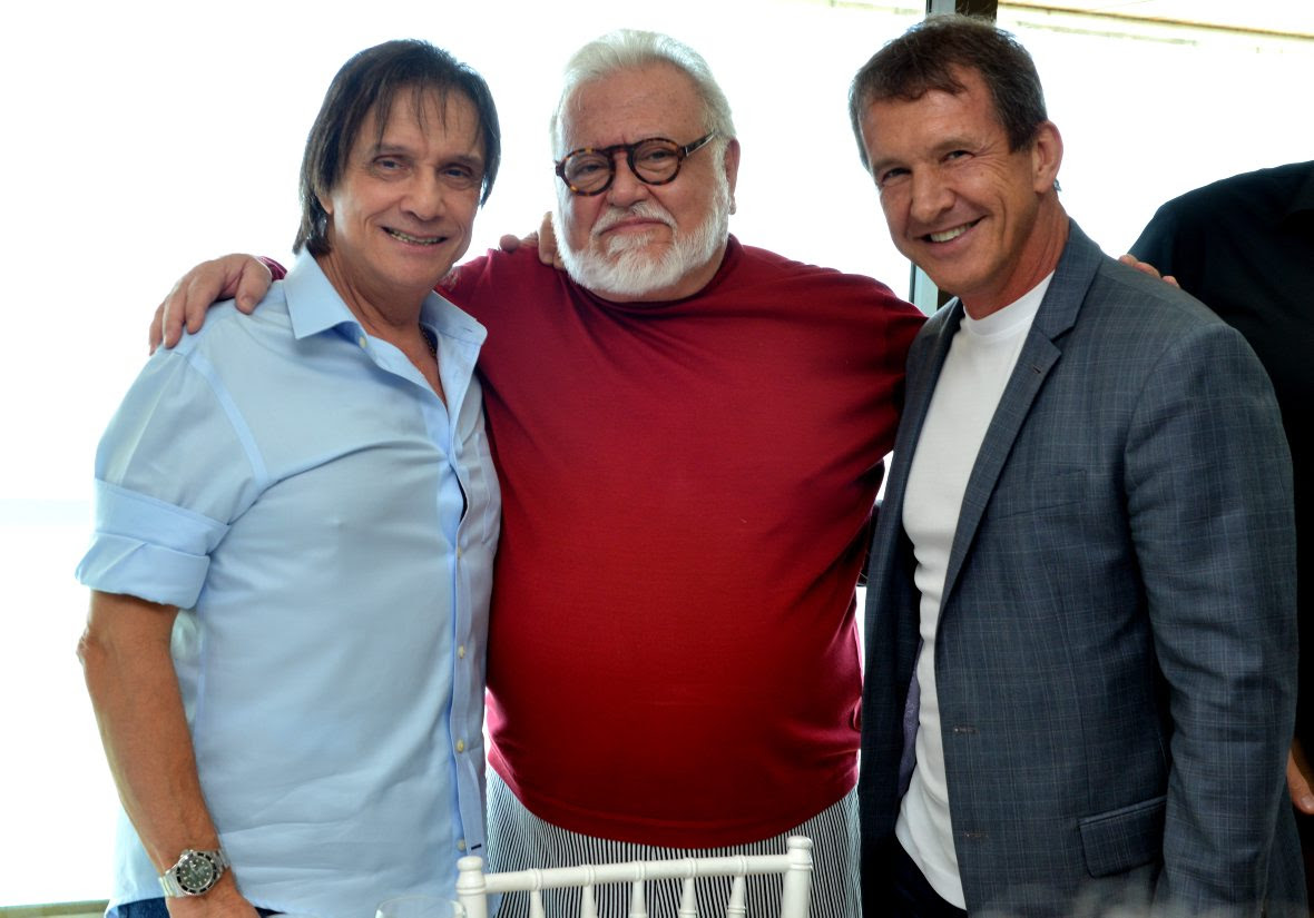 boniDSC_3038 Roberto Carlos , Ricardo Amaral e Dody Sirena - Aniversário 80 Anos BONI - Novembro 2015 - Foto CRISTINA GRANATO