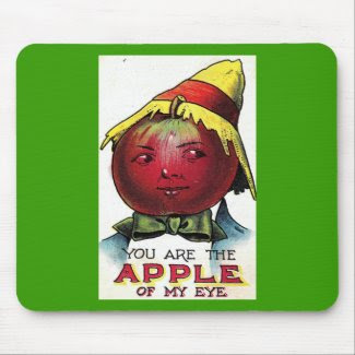 apple of my eye mousepad