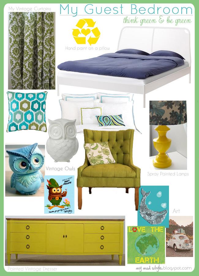 Design Board My Guest Bedroom