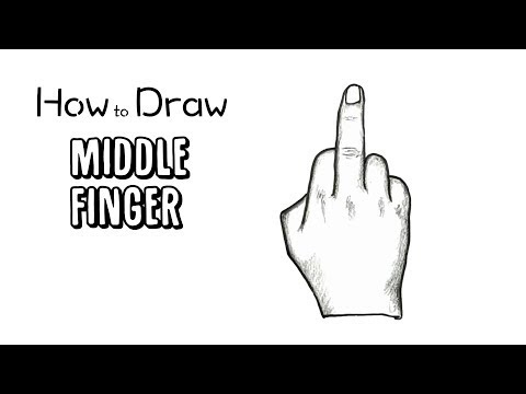 What is middle finger text Draw Emoji Pictures videos 2019