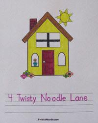 Address Worksheets - Blog - Twisty Noodle