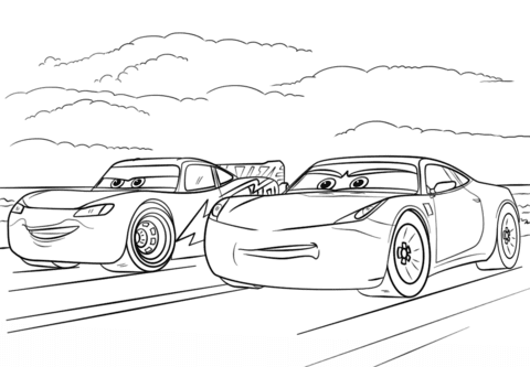 700 Coloring Pages Of Cars 3 , Free HD Download