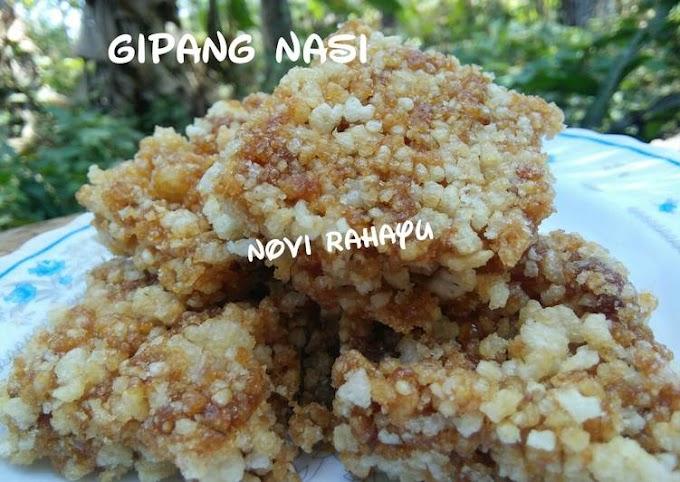 Resep Praktis Gipang nasi Hitungan Menit