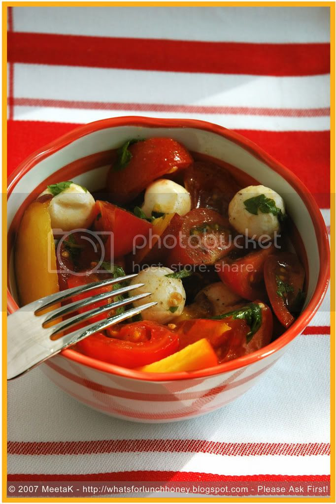 Tomato Peach Salad (05) by MeetaK