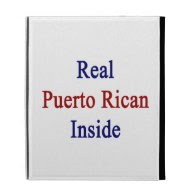 Real Puerto Rican Inside iPad Folio Case