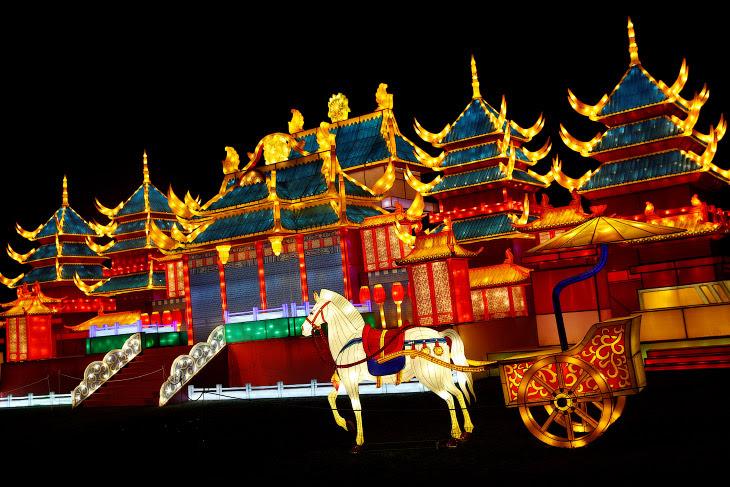 Фестиваль чарівних ліхтарів в Лондоні