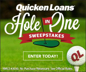 QuickenLoans - PGA Hole on One Sweepstakes. Ends 9/27