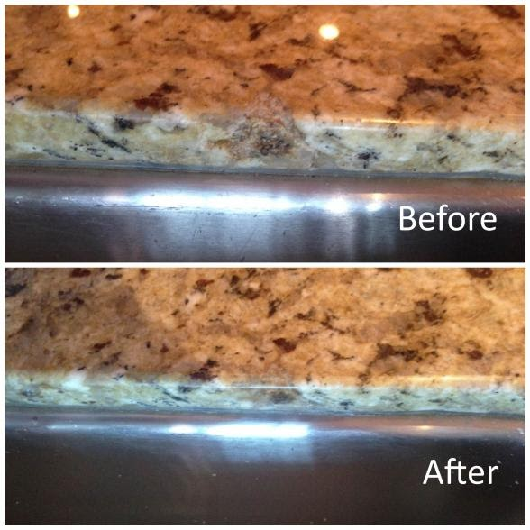 Slab Granite Countertops Quartz Chip Repair