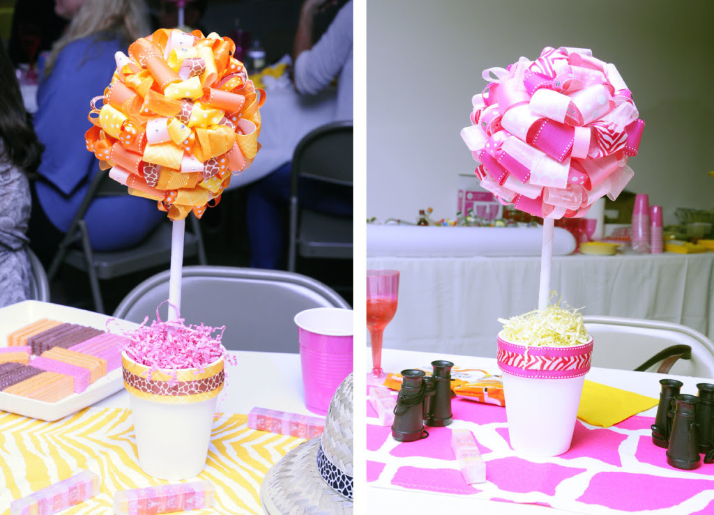Birthday Centerpieces Party Favors Ideas