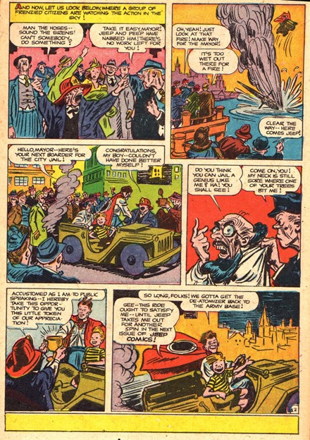 Jeep and Peep comic book scans