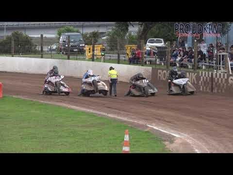 Rosebank Speedway - Auckland Sidecar Champs B and A Finals