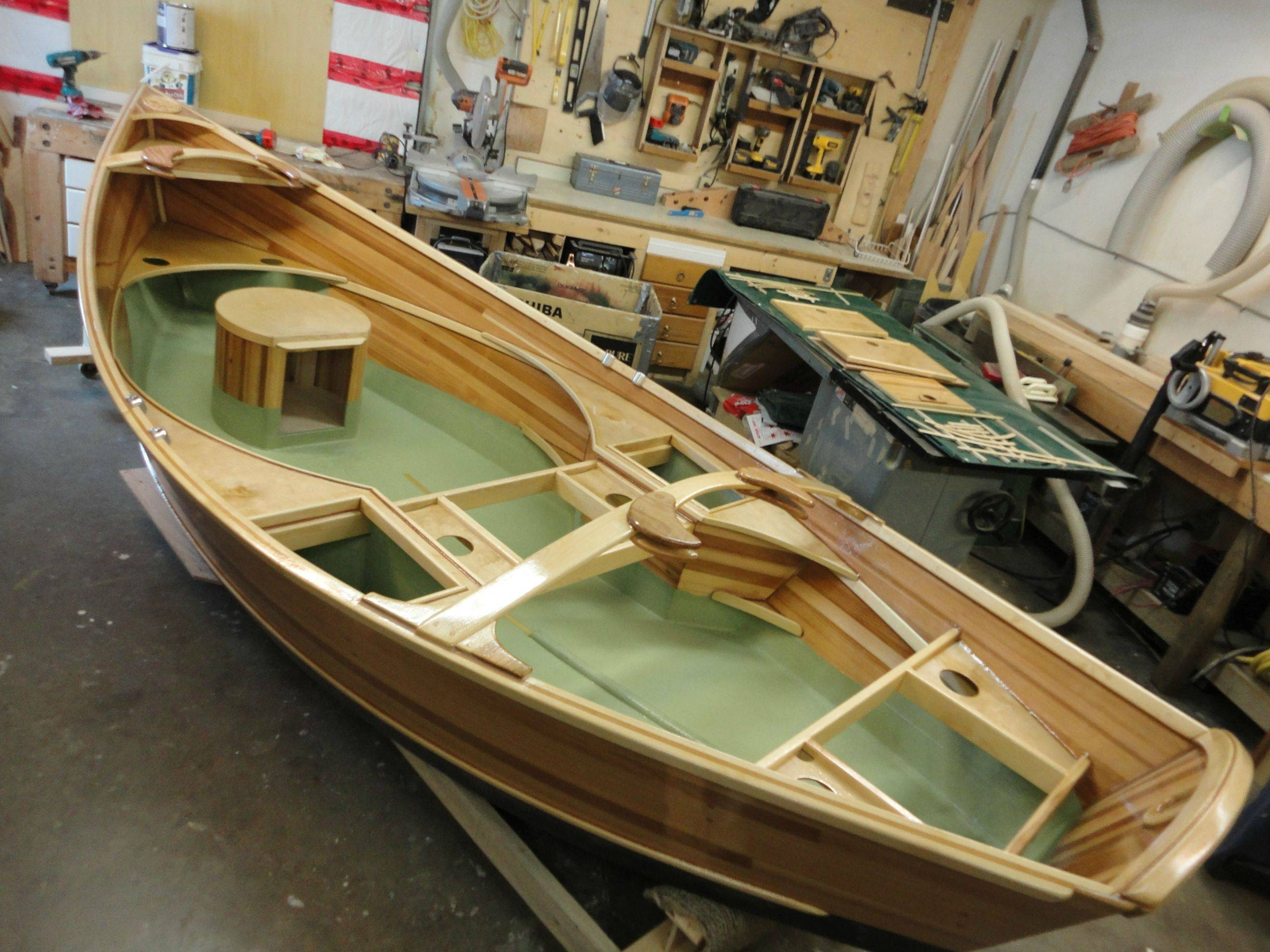 So my dad is building a drift boat. Holy shit - Imgur