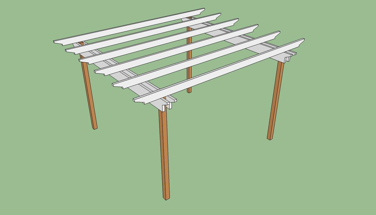 Build Pergola Plans