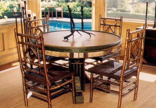 Rustic Dining Furniture Texas Rumah Minimalis