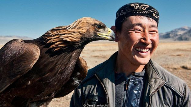 Hunters form intimate bonds with their birds